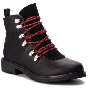 emu Australia waterproof boot Monreal red laces wool lining