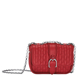 amazon longchamp handbag crossbody monreal red
