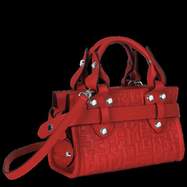 Le voyageuse LGP MONREL LONGCHAMP tote bag hand bag crossbody red