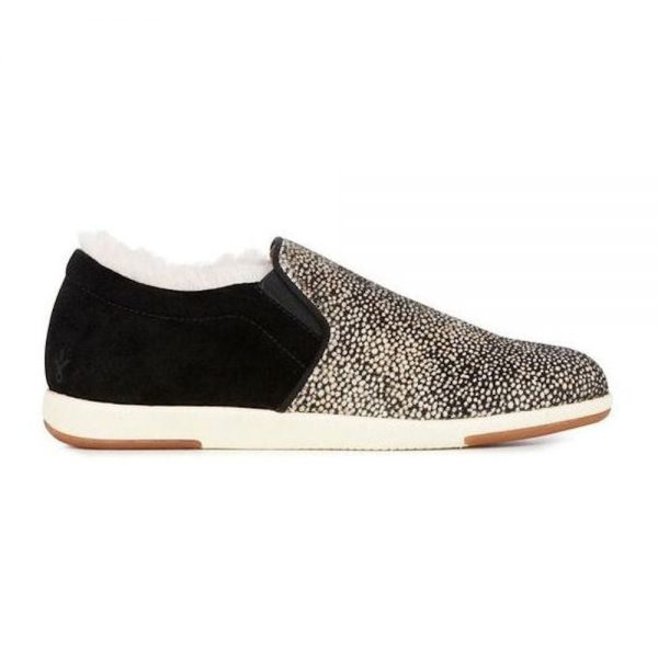 EMU Brunswick spots slipon trainers slip on monreal fur