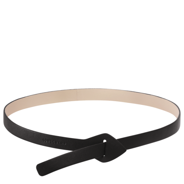 leather longchamp belt monreal amazone