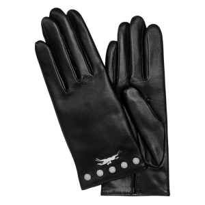 LONGCHAMP LE PLIAGE GLOVES MONREAL LEATHER CALVACADE