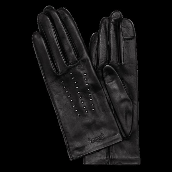 leather gloves monreal longchamp mademoiselle