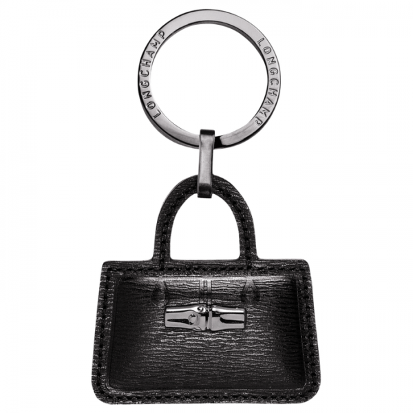 ROSEAU KEY RING LONGCHAMP MONREAL LEATHER BAG ACCESORY