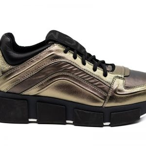 vic matie bronze runners metallic trainers monreal shoes