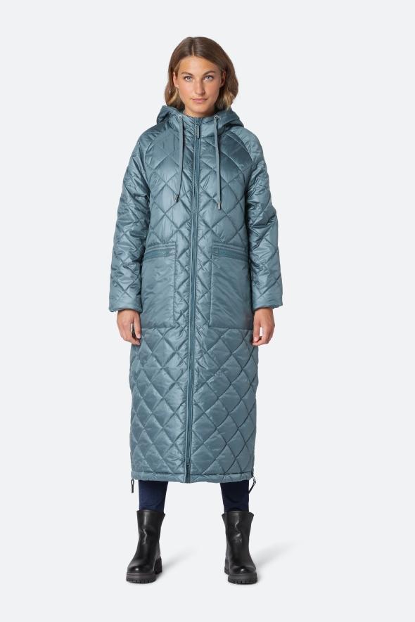 ilse jacobsen raincoat coat teal