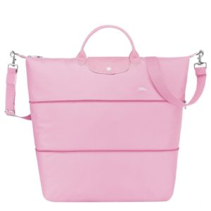 longchamp ireland travel le pliage le club pink 1911 extensible