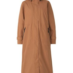 ilse jacobsen raincoat long coat ireland monreal tan