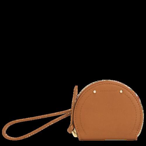 longchamp ireland foulonne cavalcade handbag purse crossbody tan caramel cognac leather