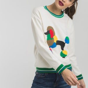 poodle sweatshirt sweater fun original colourful loungewear