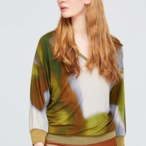 aldo watercolours top multicoloured monreal cork