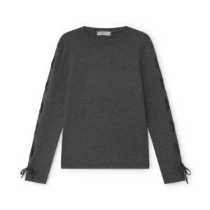 simorra grey knit jumper wool