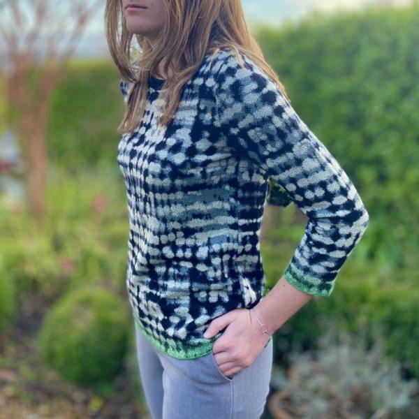 aldo lightweigth top patterned sweaterer