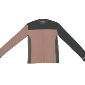 aldo multicolour jumper top pink khaki black style knit sweater