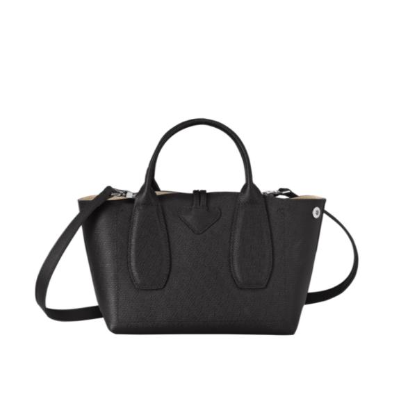 longchamp ireland roseau black handbag crossbody
