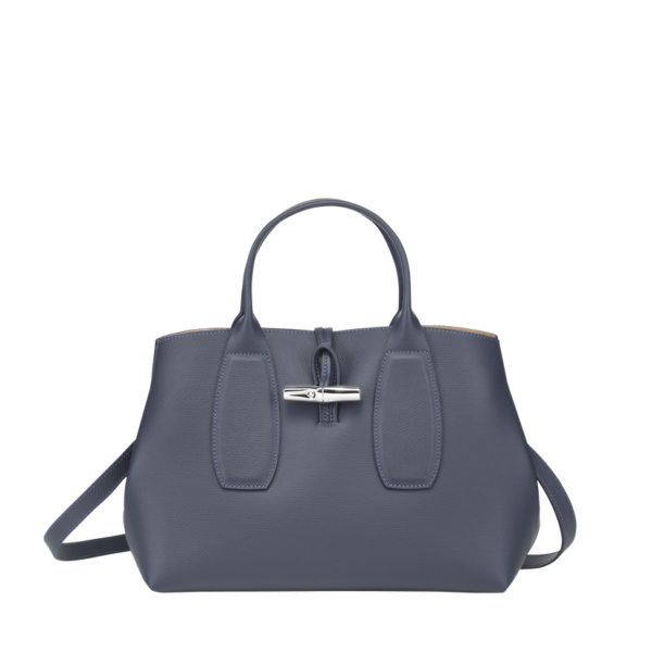 longchamp roseau ireland blue leather
