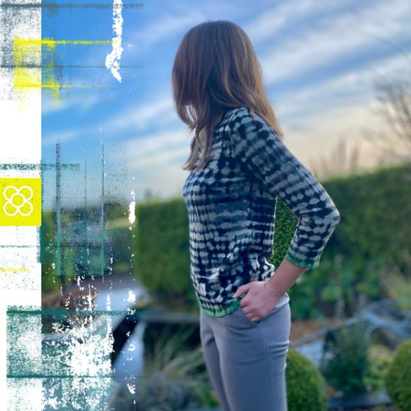 aldo lightweigth top patterned sweatere