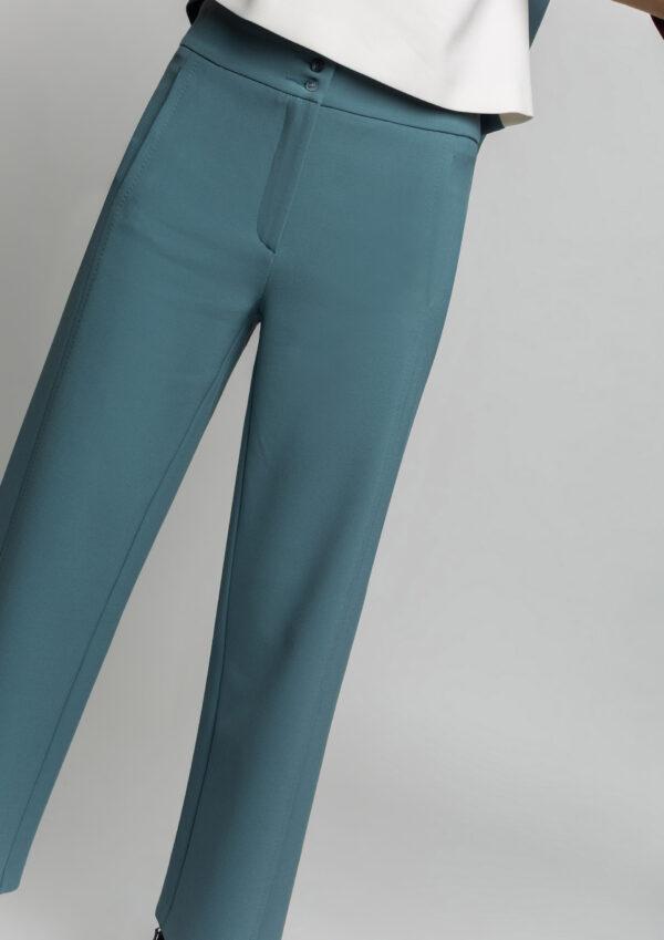 alba blue aqua culottes monreal style ireland boutique ireland styleboutique