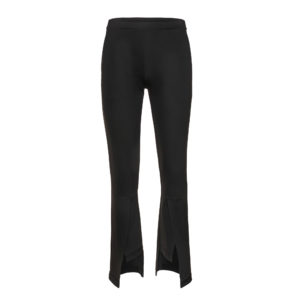 xenia asymetrical pants trousers long black monreal