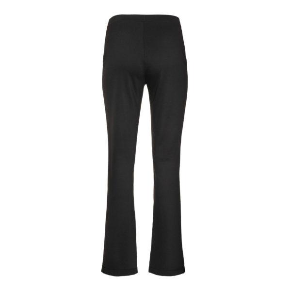xenia asymetrical pants trousers long black monreal
