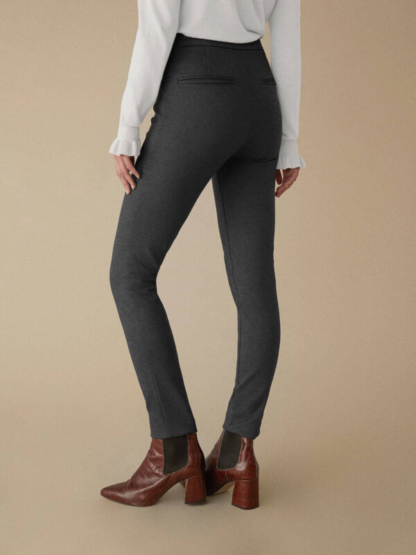 pitillo trousers grey jersei monreal ireland leggings warm slim fit tight fit