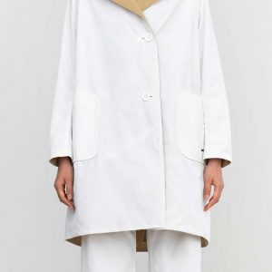 oof raincoat white tan ireland italia italy