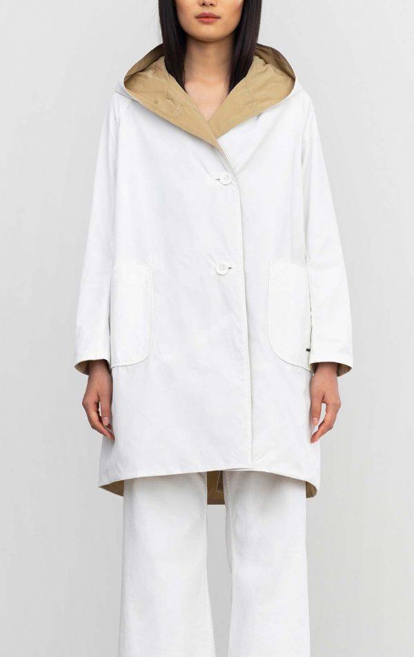 oof raincoat white tan ireland italia italy
