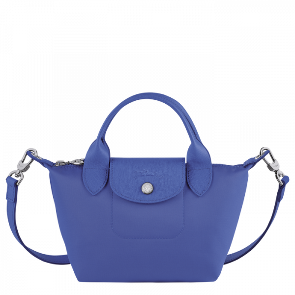 longchamp neo le pliage longchamp ireland nylon small crossbody blue