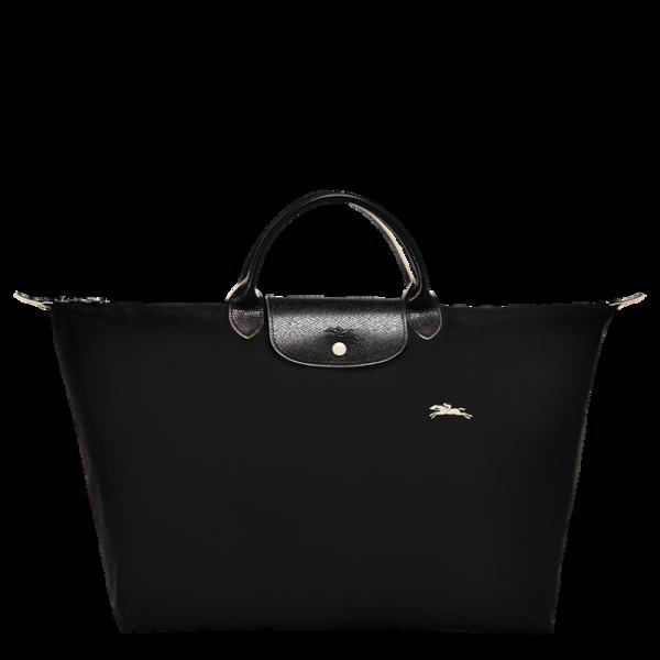 1624 club neo longchamp ireland travel nylon black large tote