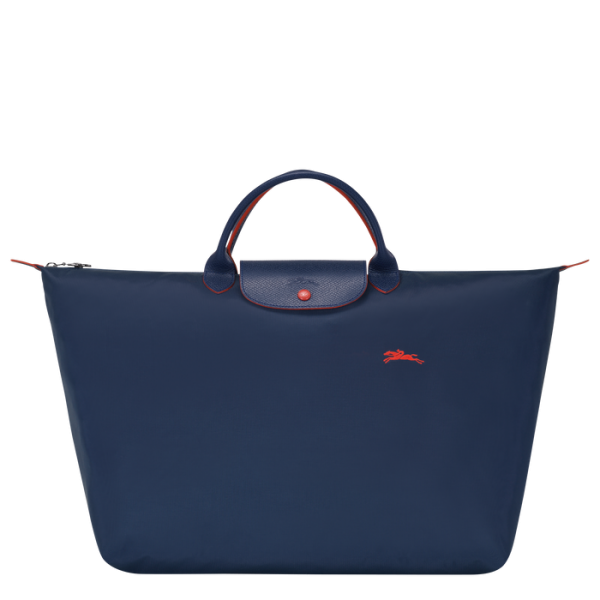 longchamp ireland navy baf pliage club nylon handbag