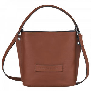 longchamp ireland 3d soft leather tan cognac crossbody brown