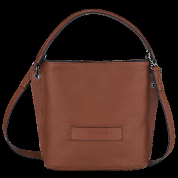 longchamp ireland 3d soft leather tan cognac crossbody brown