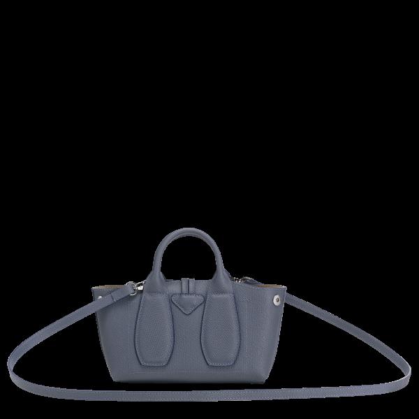 longchamp ireland roseau blue small leather