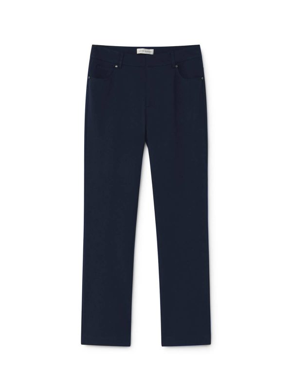 navy trousers monreal boutique classy style suit good fit navy pants