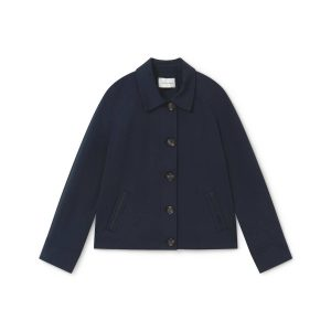 NAVY SHORT JAcket suit monreal ireland irish boutique boutique style simorra buttonned