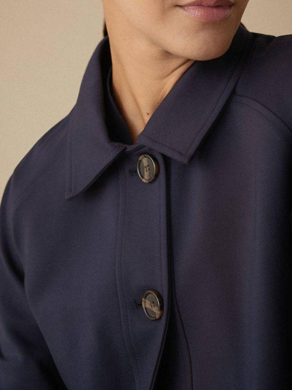 simorra navy jacket suit monreal irish boutique