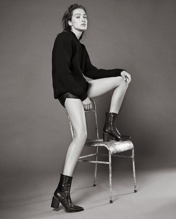 Laura Bellariva boots snake leather Ireland block heel