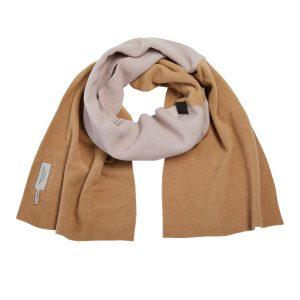 poncho fleece sand taupe monreal beige ireland henriette steffansen camel soft pink nude