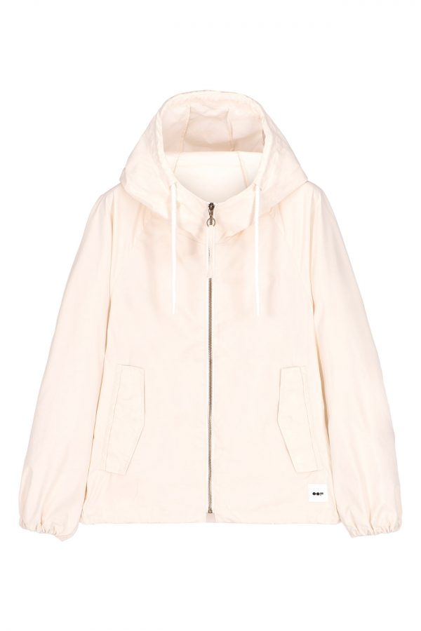 oof short jacket white spring collection neutrals casual