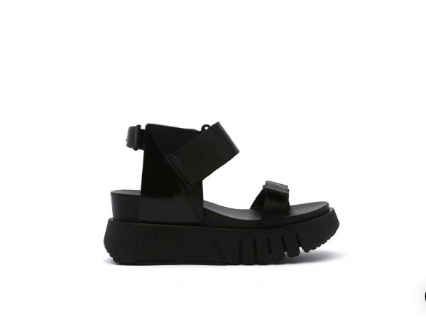 Del Run leather sandal united Buds Black leather Ireland issey miyake Shoes Standard Fit Heel Height: 65mm/2.56in Leather upper and lining Rubber outsole