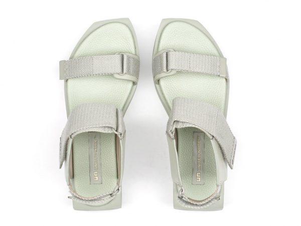 United Nude sandals WaLo wa lo Seagrass leather aqua Monreal Ireland designer sandals platform flat form delta run issue y mi miyake
