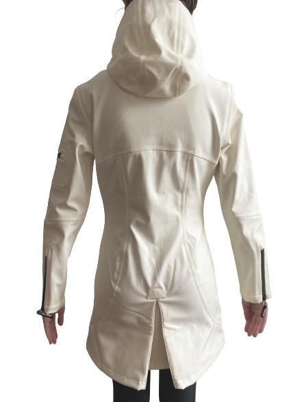Ilse Jacobsen sugar WHITE IRELAND raincoat fitted rain7 milk