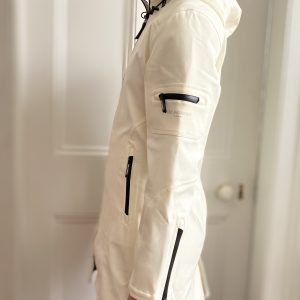 Ilse Jacobsen sugar WHITE IRELAND raincoat fitted rain7 milk