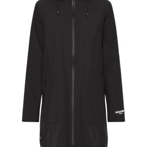 RAIN128 BLACK ILSE JACOBSEN IRELAND RAINCOAT HOOD