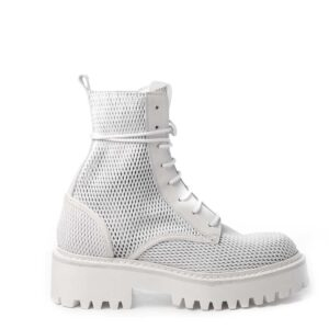 vic matie ireland monreal leather white boot perforated leather mesh boot white laced black