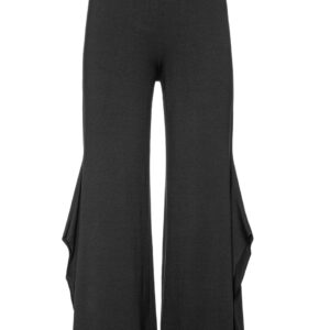 Culottes black trousers slit trousers Monreal Ireland boutique