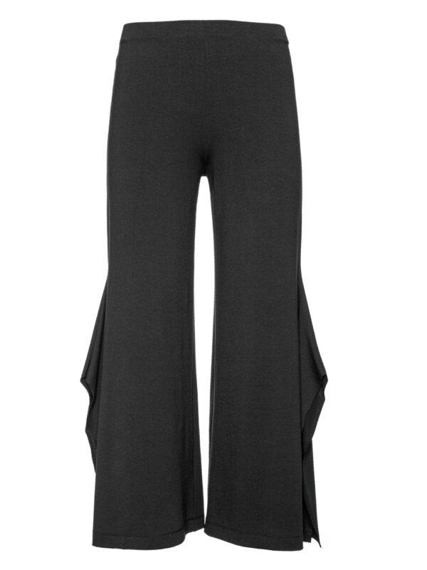 Culottes black trousers slit trousers Monreal Ireland boutique