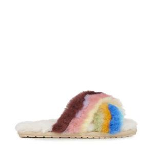 emu australia sheepskin slippers monreal emu ireland baby pink rainbow slippers sheepskin