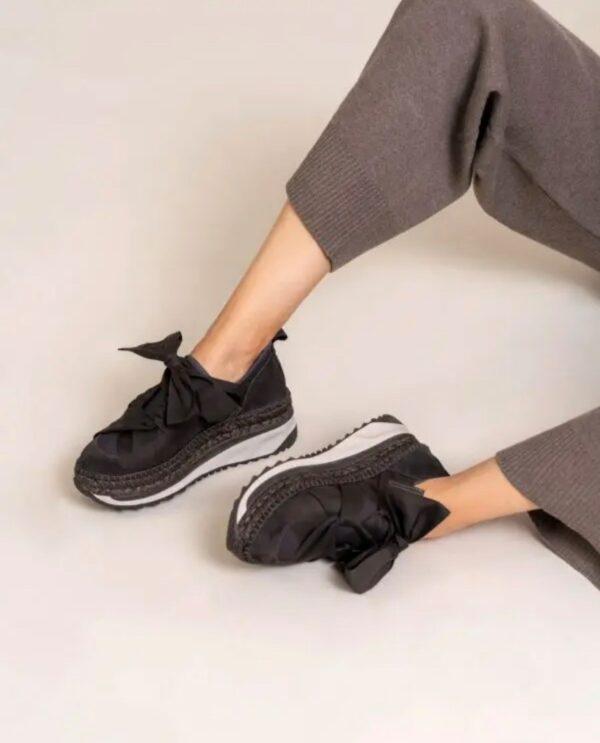 gaimo venus sneakers runners ireland bow ribbon espadrilles ireland