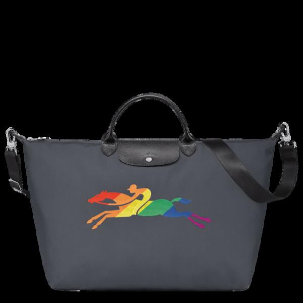 longchamp ireland travel pride month bag rainbow